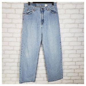 VTG Levi's 965 Wide Leg Mom Jeans High Rise 11